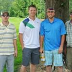 Alumni Jesse & Clint Trefethen, Josh Madeira & Dad Joe