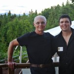 MPSF President Paul Kratzig with Board Member Bryan Cronk